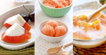 潤膚美容又解暑止渴!9款木瓜甜品讓你食起來毫無負擔!