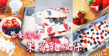 【吃貨念力減肥法】營養清新果莓乳酪條