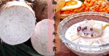 飯後來一碗滋補糖水~4步完成椰汁香芋西米露