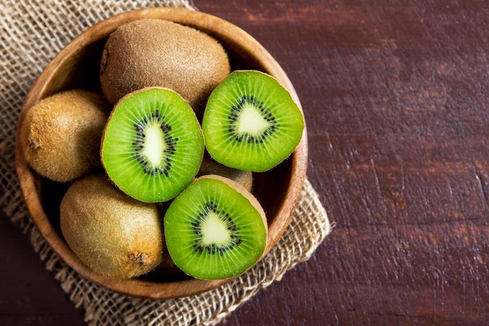 奇异果富有大量充足营养,包括叶酸、钾、维他命K和维他命C。