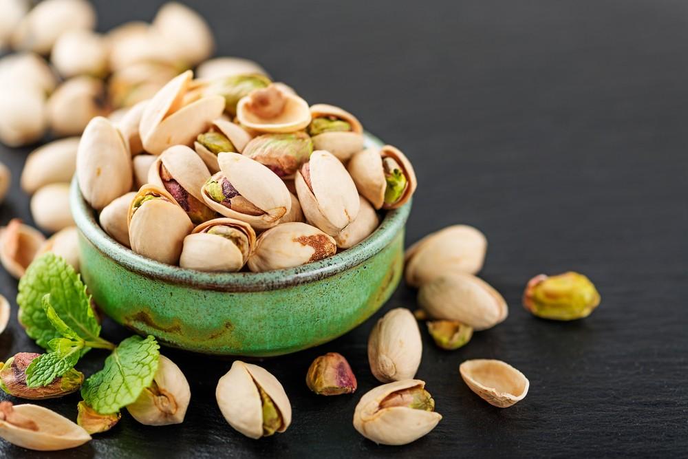 带壳无盐果仁没有含钠,为十分好的零食选择。