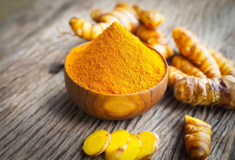 姜黄含有姜黄素(Curcumin),可促进脑部健康,以及预防焦虑。