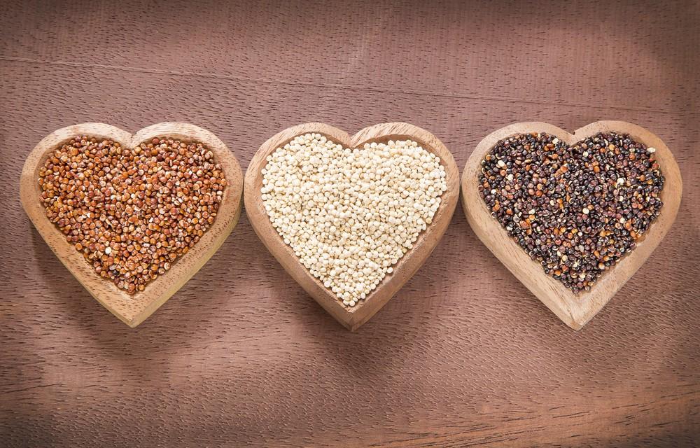 藜麦含有大量蛋白质,并提供所有重要的氨基酸。