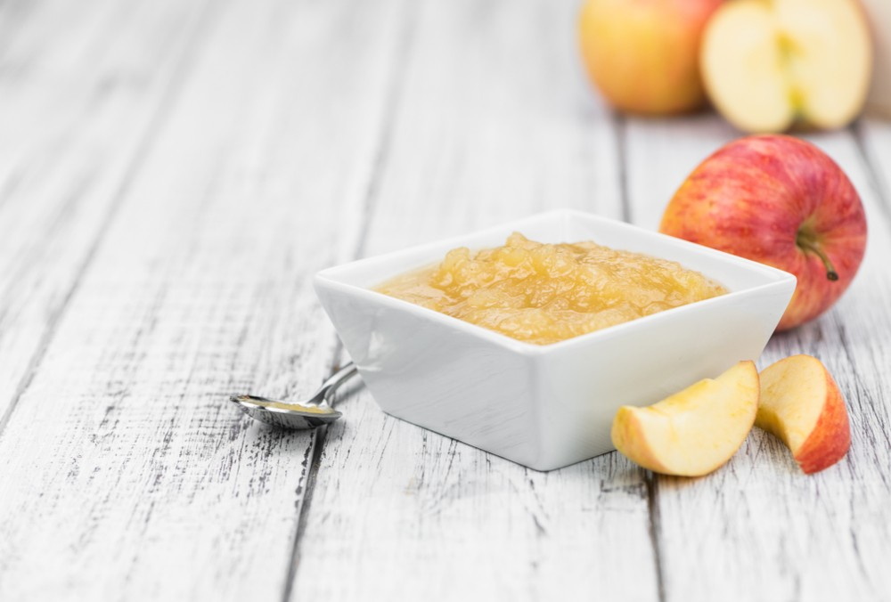 苹果泥也含有果胶,为可溶性纤维,或能有助治疗腹泻。