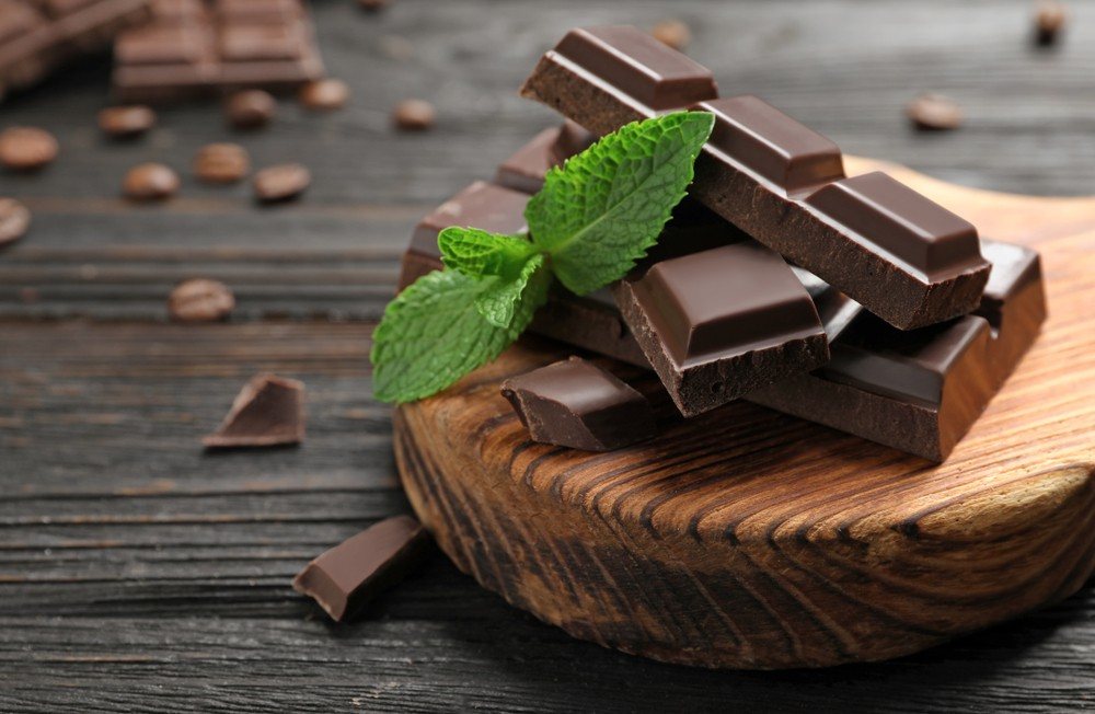 黑巧克力含丰富营养。