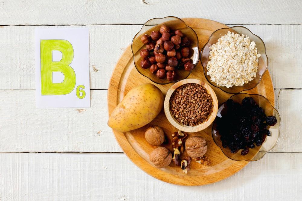 维他命B6的食物来源为肉类、动物肝脏、全谷类、豆类、坚果类、香蕉等。