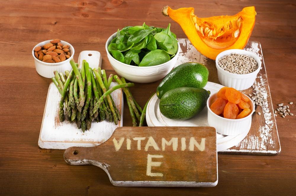 维他命E是重要的抗氧化剂。