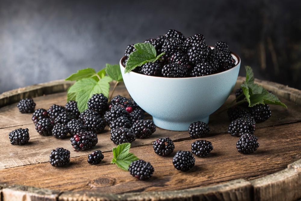 黑莓十分有营养,140克的黑莓,就有超过每日所需维他命C的30%。