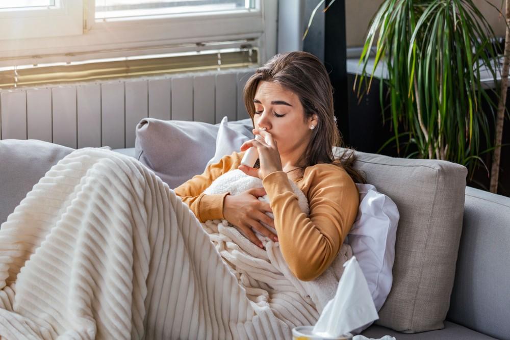 喷鼻剂可用于纾缓伤风感冒时的鼻塞症状。