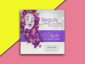 Beauty of the Bash – Social Media Template