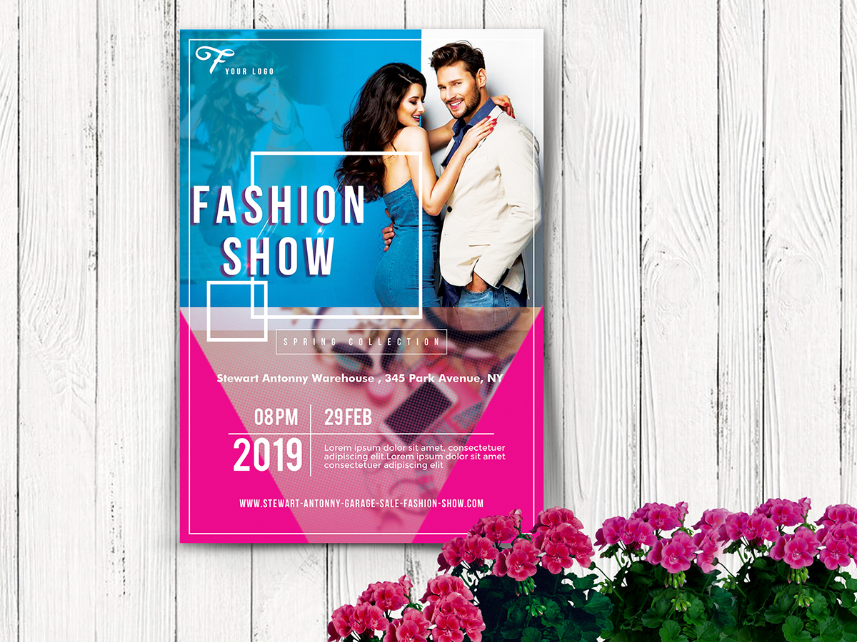Fashion show flyer templates 39