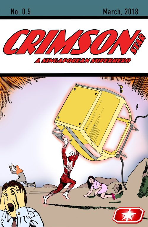 Crimson Star Ashcan Cover B