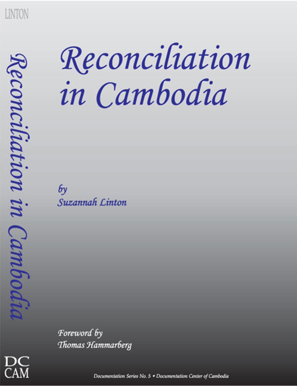 Reconciliation in Cambodia