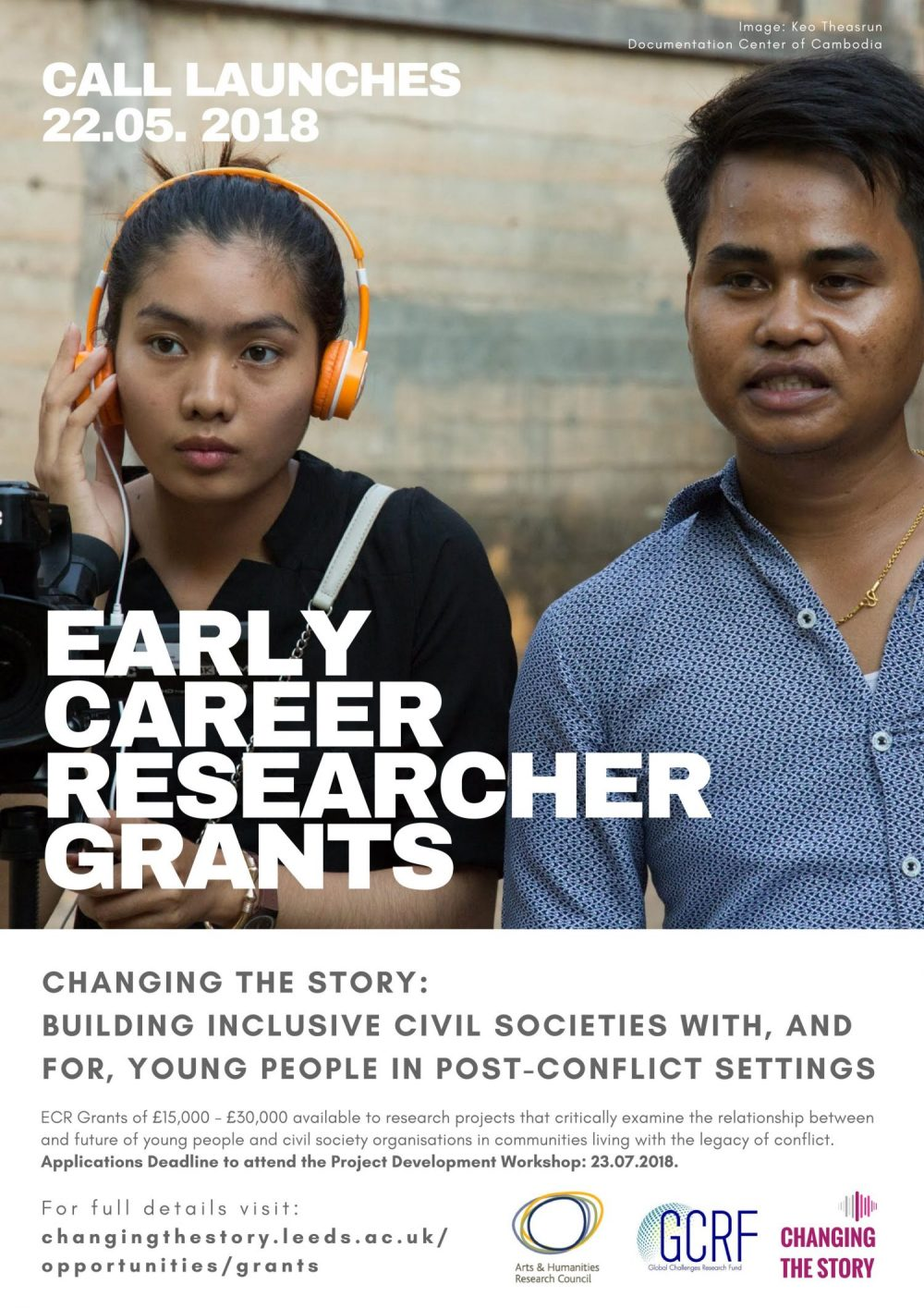 EARLY CAREER RESEARCHER GRANTS (2018)