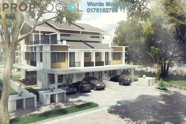 For Sale Semi-Detached at Precinct 16, Putrajaya Freehold Unfurnished 6R/6B 2.3m