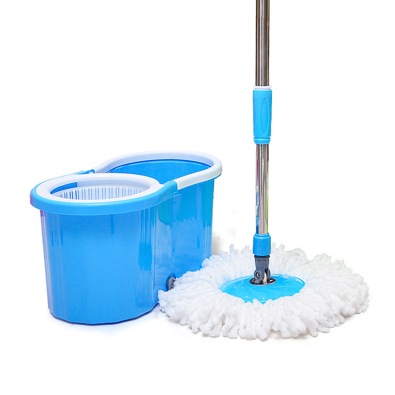 360 Degree Spin Magic Mop with Dryer Cleaner + 2Mop Cloth