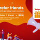 Refer friends and enjoy the ECV up to 500THB! only this July 3