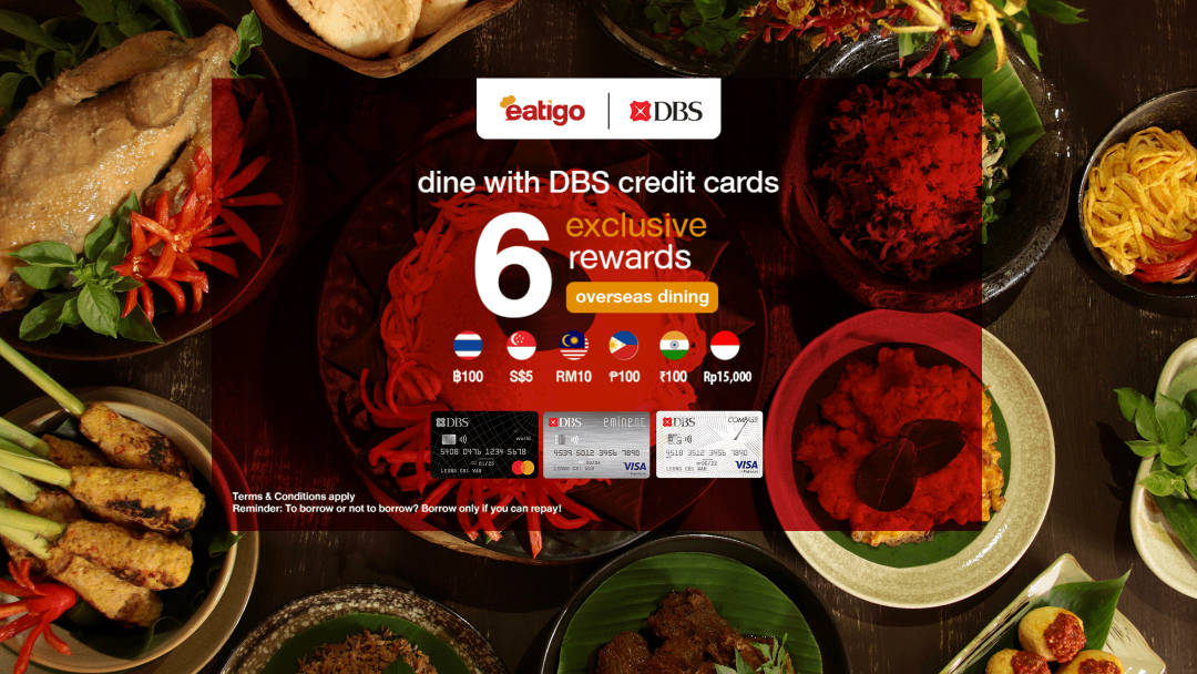 Exclusive for DBS Credit Card Cardholders - Overseas Dining Rewards 8