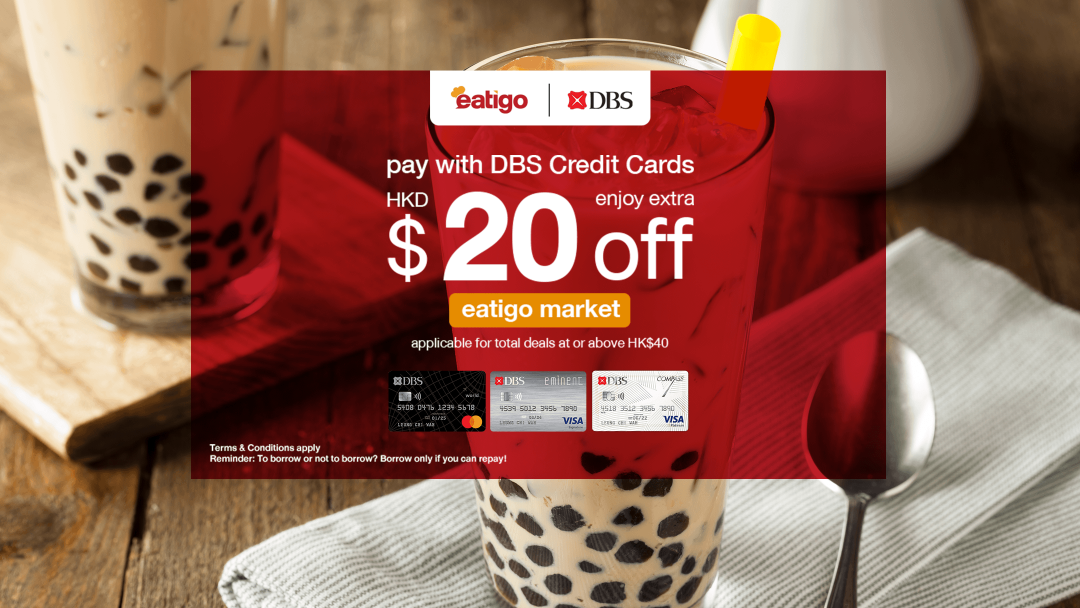 Exclusive for DBS Credit Card Cardholders - eatigo market Rewards 6