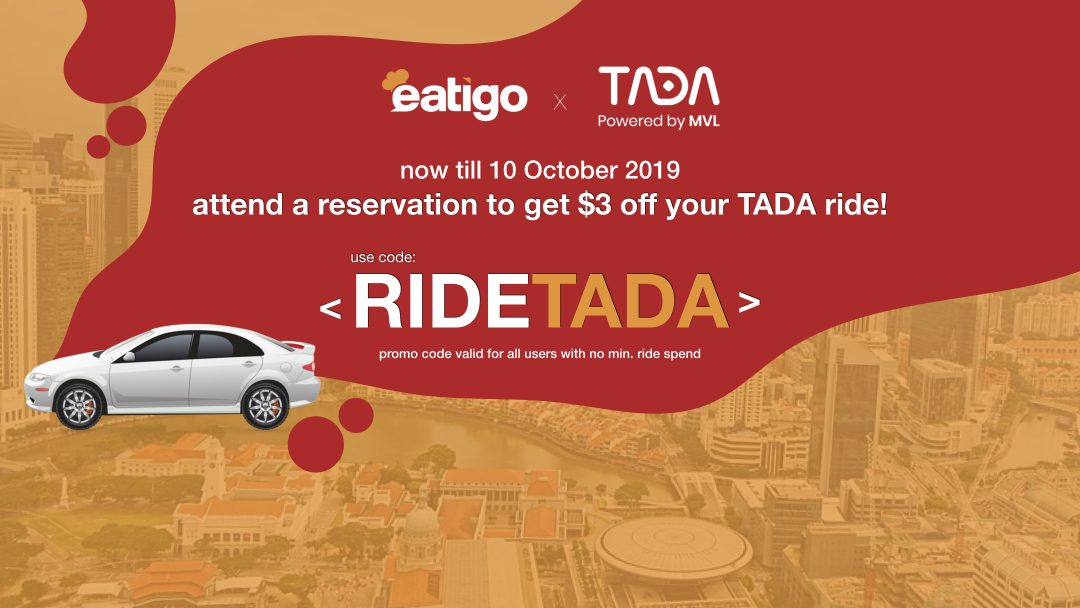 Flash Promo: Get Your $3 TADA Ride Voucher! 12