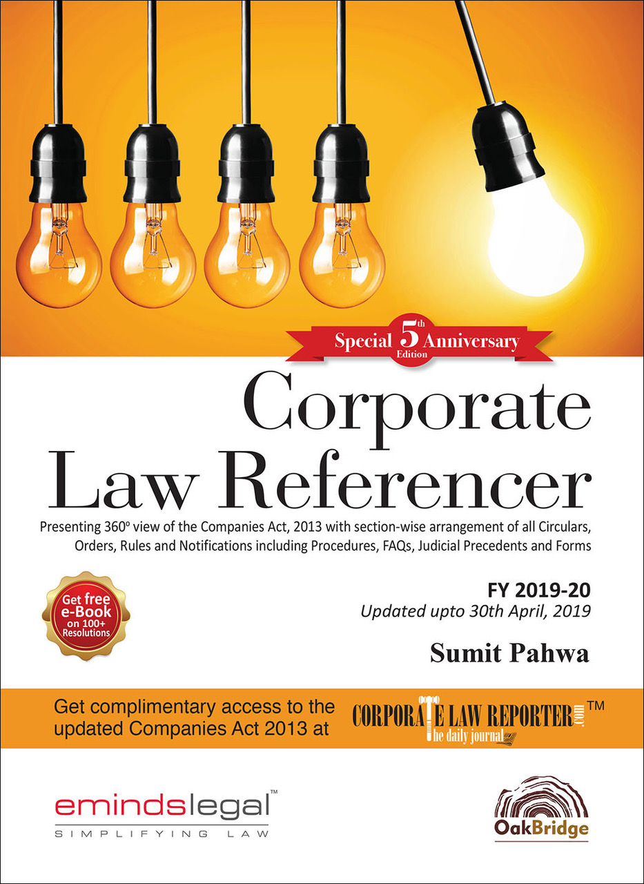 Corporate Law Referencer 5th edn