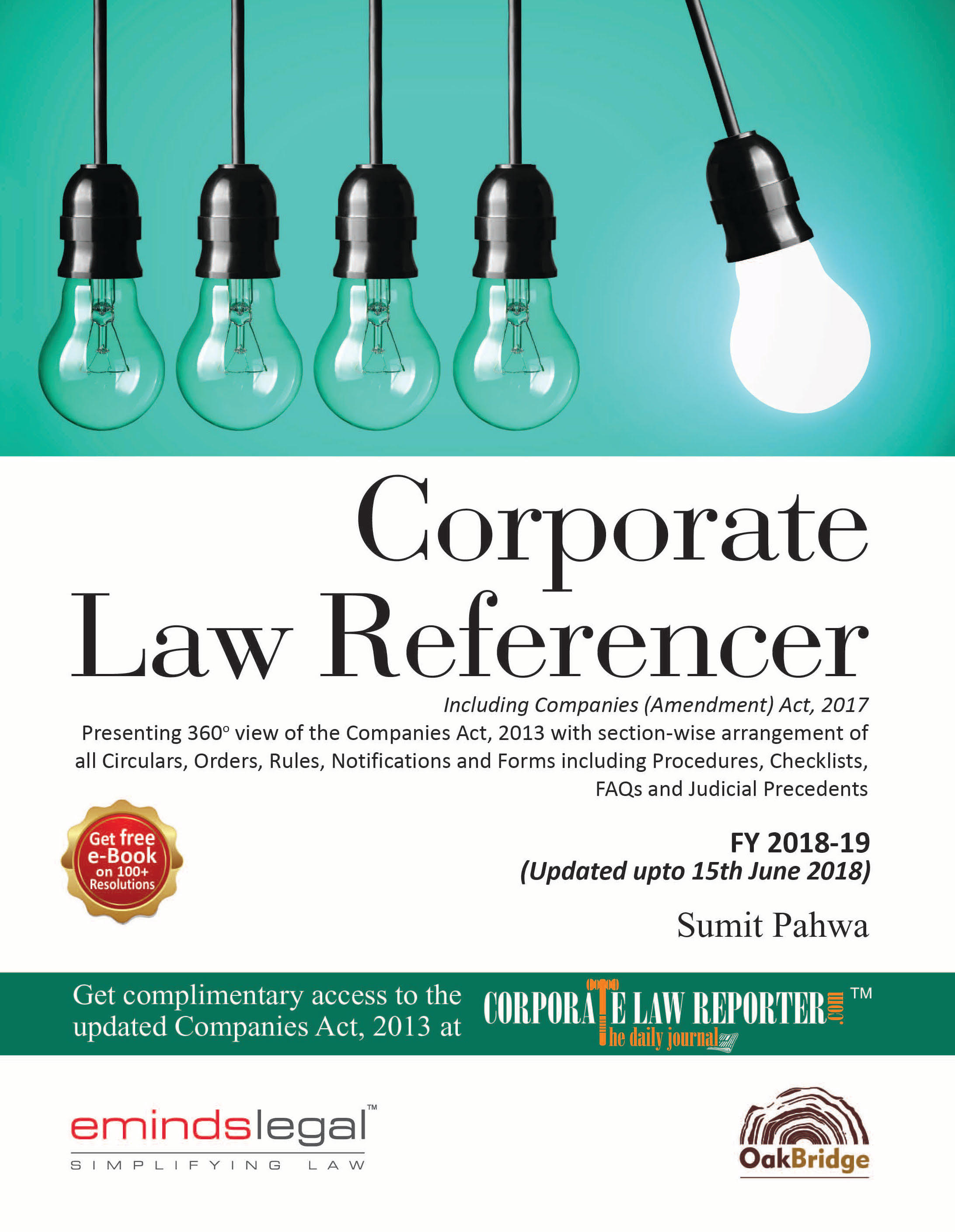 Corporate Law Referencer front cover 4th edition