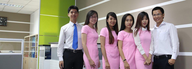 Đội ngũ nhân viên tại Văn Phòng Ảo Quận 3