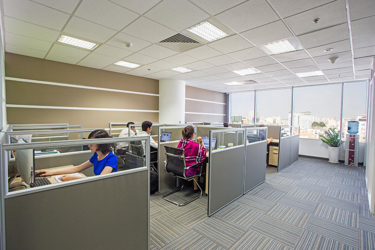 Khu vực làm việc tại Văn Phòng Ảo Quận Phú Nhuận