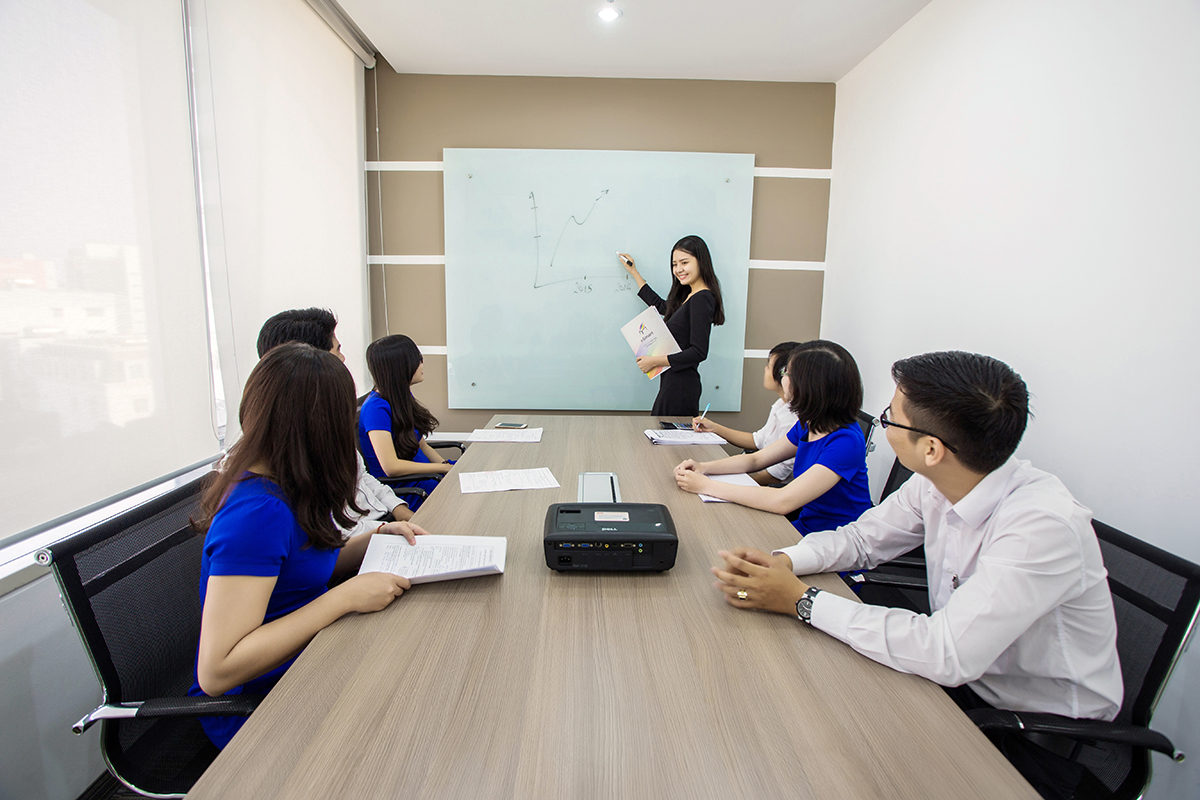 Phòng họp tại Văn Phòng Ảo Quận Phú Nhuận