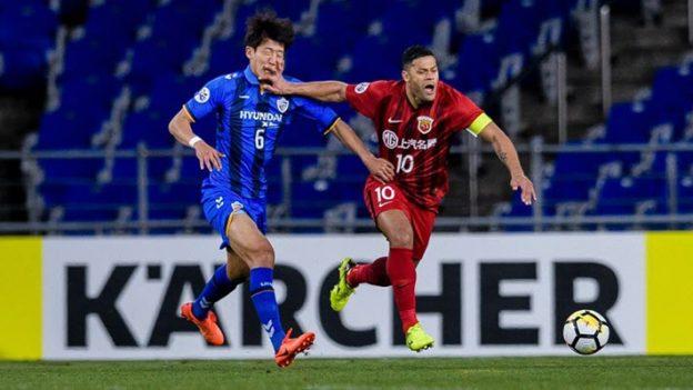 อุลซาน ฮุนได 0-1 เซี่ยงไฮ้ เอสไอพีจี