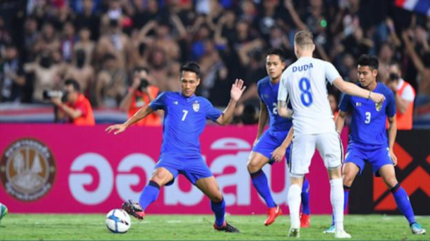 ทีมชาติไทย 2-3 สโลวาเกีย