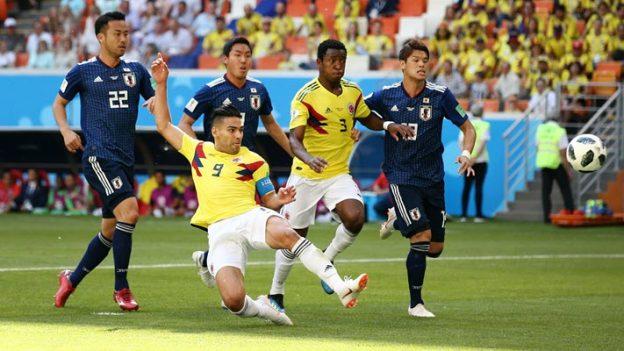 โคลอมเบีย 1-2 ญี่ปุ่น
