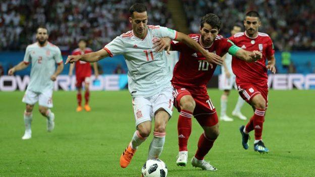 อิหร่าน 0-1 สเปน