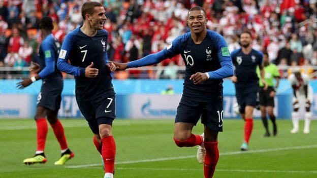 ฝรั่งเศส 1-0 เปรู