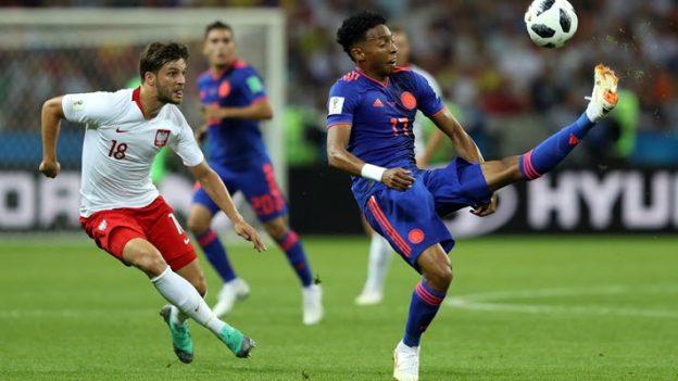 โปแลนด์ 0-3 โคลอมเบีย