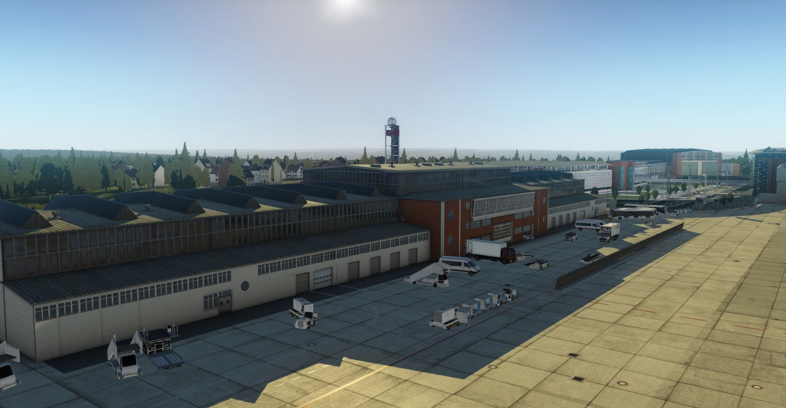 JustSim Has Released Dresden Airport EDDC for XPlane 11 FSElite