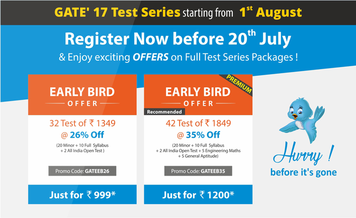 Gate-Online-Test-Series-Early-Bird-Offer-2016-17