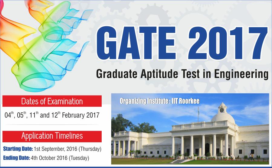 GATE-2017-Announcement