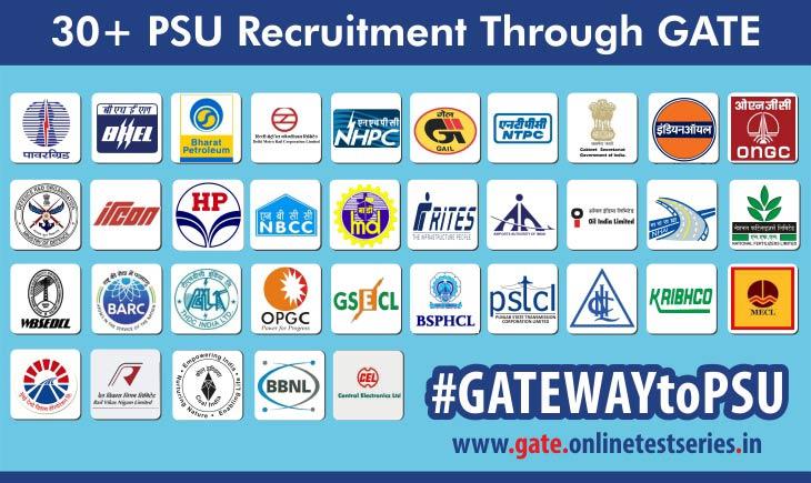 GATE-2017-PSU-Recruitement