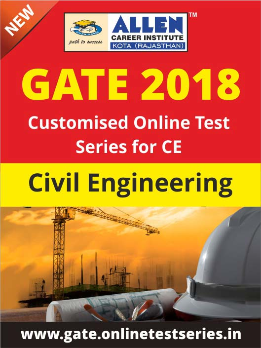 Customized GATE Online Test Series for Civil Engineering