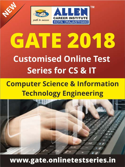 Customized GATE Online Test Series for Computer Science and Information Technology