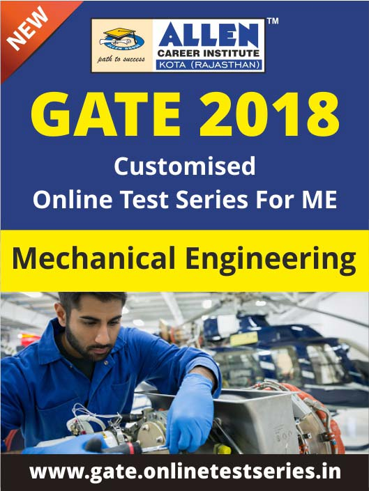 Customized GATE Online Test Series for Mechanical Engineering