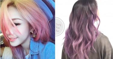 是專屬於秋天的髮色!超浪漫乾燥花髮色,很讓人心動的顏色啊~