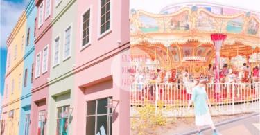 你沒看錯是在台灣!超唯美粉色夢幻樂園,就像置身在童話國度裏啊