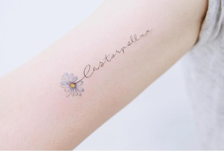 走!一起到韓國刺青〜21款小清新刺青,留下最唯美的印記  Girls 女生日常|PressLogic