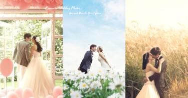 給我一場夢幻婚禮!18張絕美浪漫婚照〜是每個女生的夢想吧