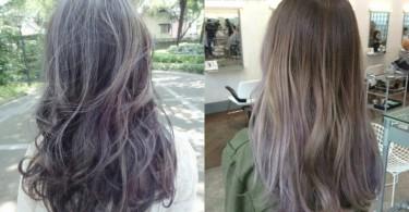 全頭漂染過時啦!25款冷色系髮尾挑染,紫灰棕的配色美得太犯規了啊~