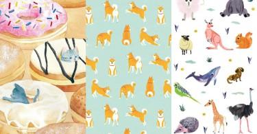 每天都要被萌死!40款小清新動物系手機桌布,就讓萌萌的動物徹底塞爆你屏幕吧~