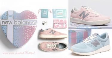 情人節限定版「Love Lock」鞋款!粉藍+粉紅球鞋配上浪漫心形鎖,甜蜜度滿分〜