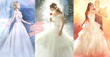 我願意!45 款「迪士尼公主系列婚紗」夢幻登場,公主一輩子做一次就完滿了!